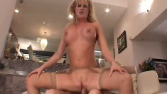 This housewife really loves being degraded and fucked like a whore